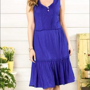Matilda Jane Women's Medium Into The Blue Dress